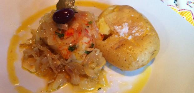 Bacalhau a Lagareiro com Batatas ao Murro